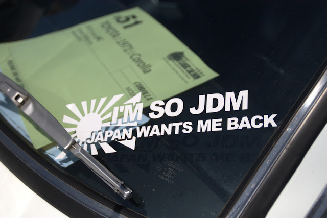 Naklejka JDM sticker