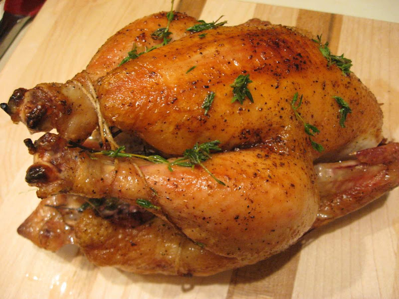 Thomas Keller's perfect roast chicken from Feather Ridge Farm
