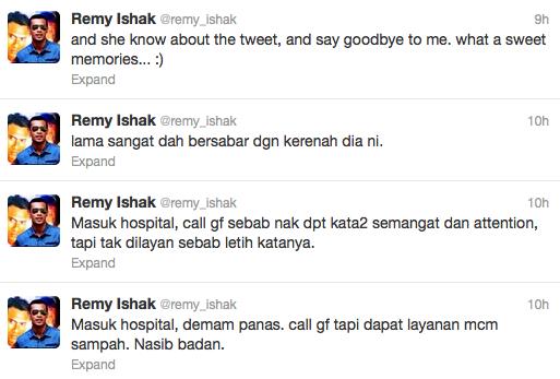 Twitter Remy Ishak