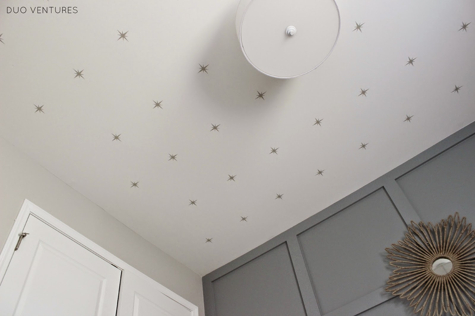 how to make ceiling look like stars
