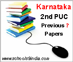 Karnataka 2nd PUC Exam Question Papers, Second PUC Model Papers in pdf at pue.kar.nic.in, Karnataka 2nd PUC Question Papers Subject wise