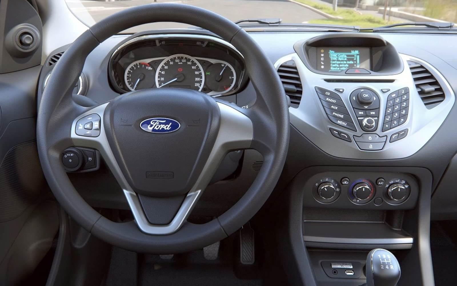 Novo ford ka hatch chega as concession rias em setembro car blog br - Interior ford ka ...