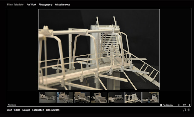 Model of Ender's Game Movie Set by Brett Phillips