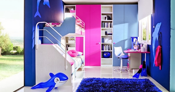 Dormitorio infantil en espacio peque os como decorar - Literas para ninos espacios pequenos ...