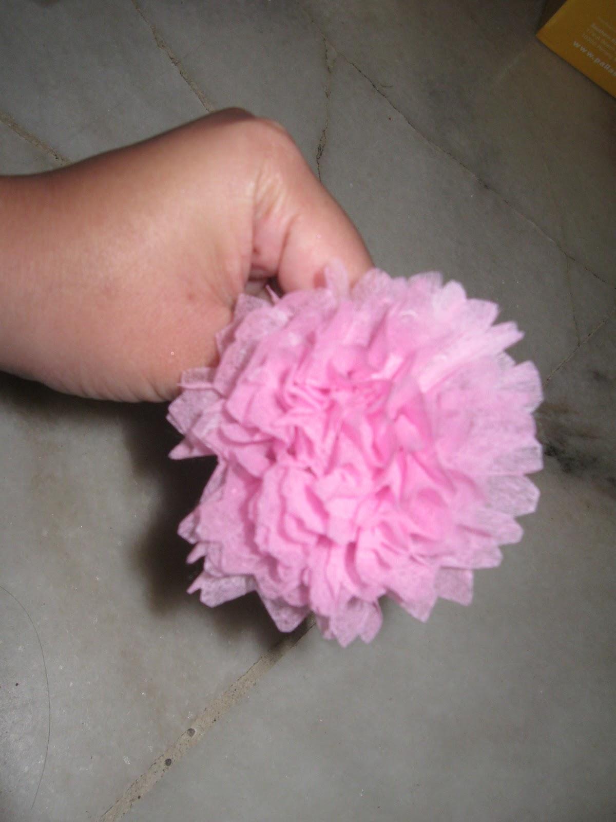 bunga carnation dari kertas tisu bunga carnation dari kertas crepe ...