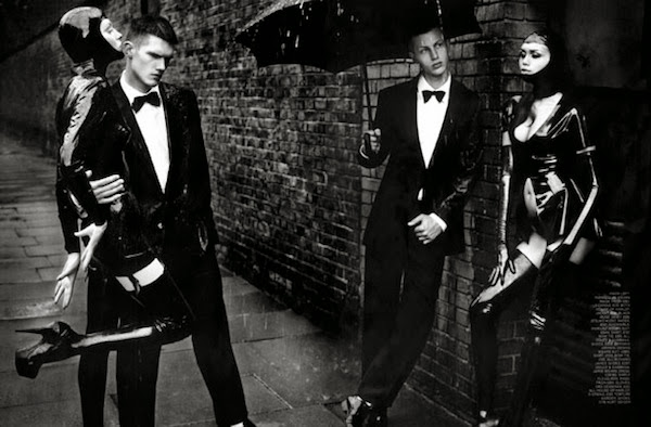 Fetish Fashion : GQ Mag With Dolce And Gabbana And Tom Ford Wears