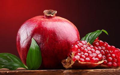 Romã: A fruta que emagrece e faz bem para a Saúde!