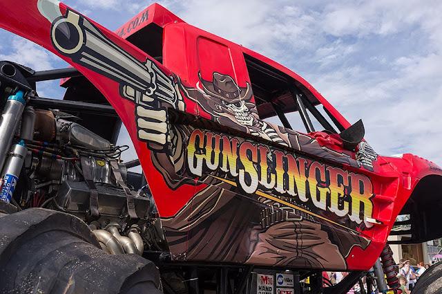 Gunslinger Monster Truck - Hagerstown Speedway