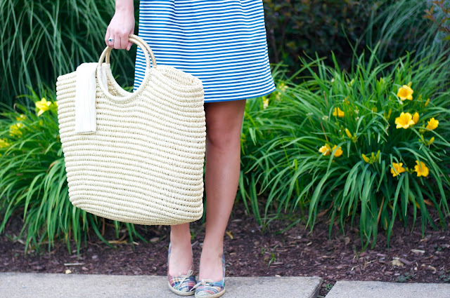 target straw beach tote