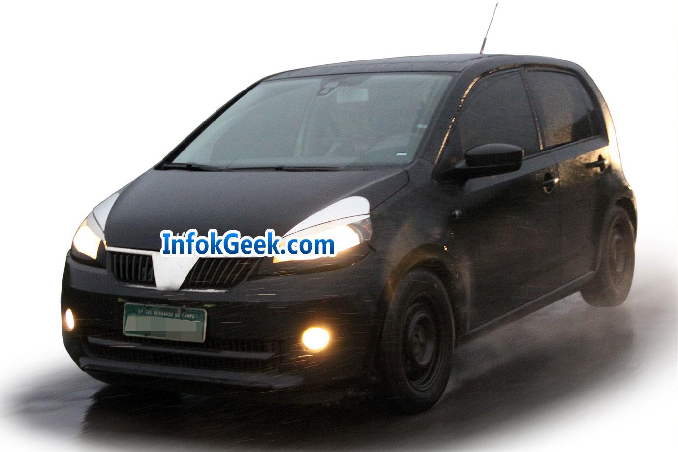 Volkswagen testea el nuevo Up! en Brasil