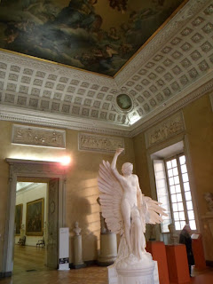 Dijon fine arts museum sculpture room