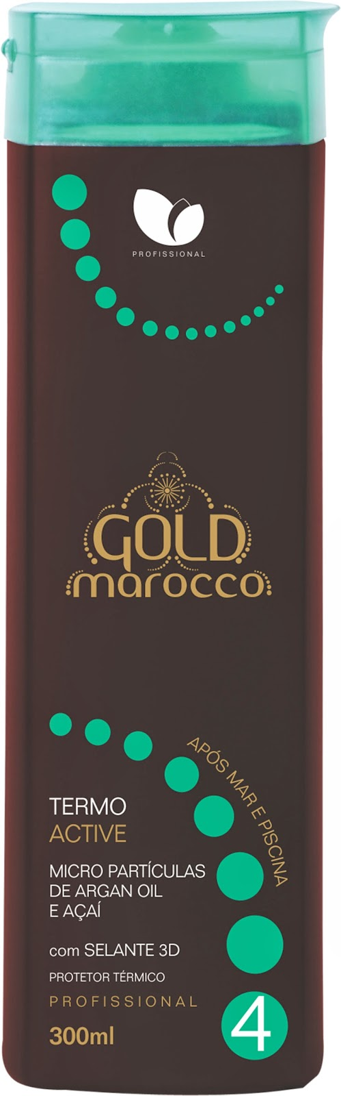 Termo Active Gold Marroco Manga Rosa