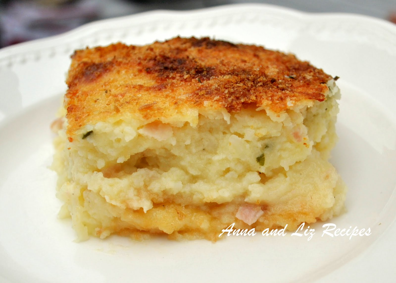 Sisters Recipes... by Anna and Liz: Mom's Best Mashed Potato Pie