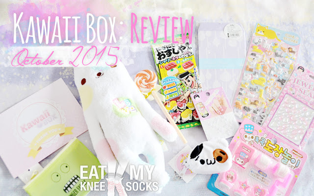 I'm all snowed in this weekend due to the huge blizzard, and I finally got the chance to finish up and post my review of the October 2015 Kawaii Box! I know, I know, this review is way overdue, but here it is at last, featuring 11 insanely adorable items from my latest Kawaii Box! Plus, you can enter for the chance to win your own Kawaii Box!