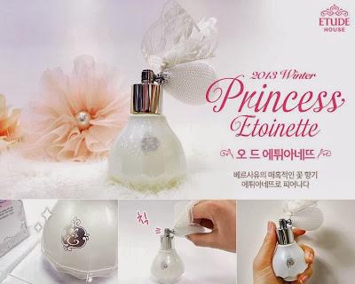 princess etoinette limited, jual etude murah, jual etude semarang, eau de toilette, parfum