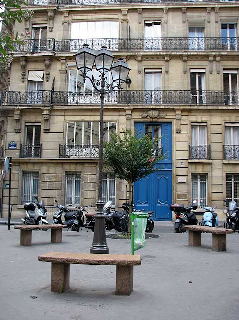 Benches, Paris