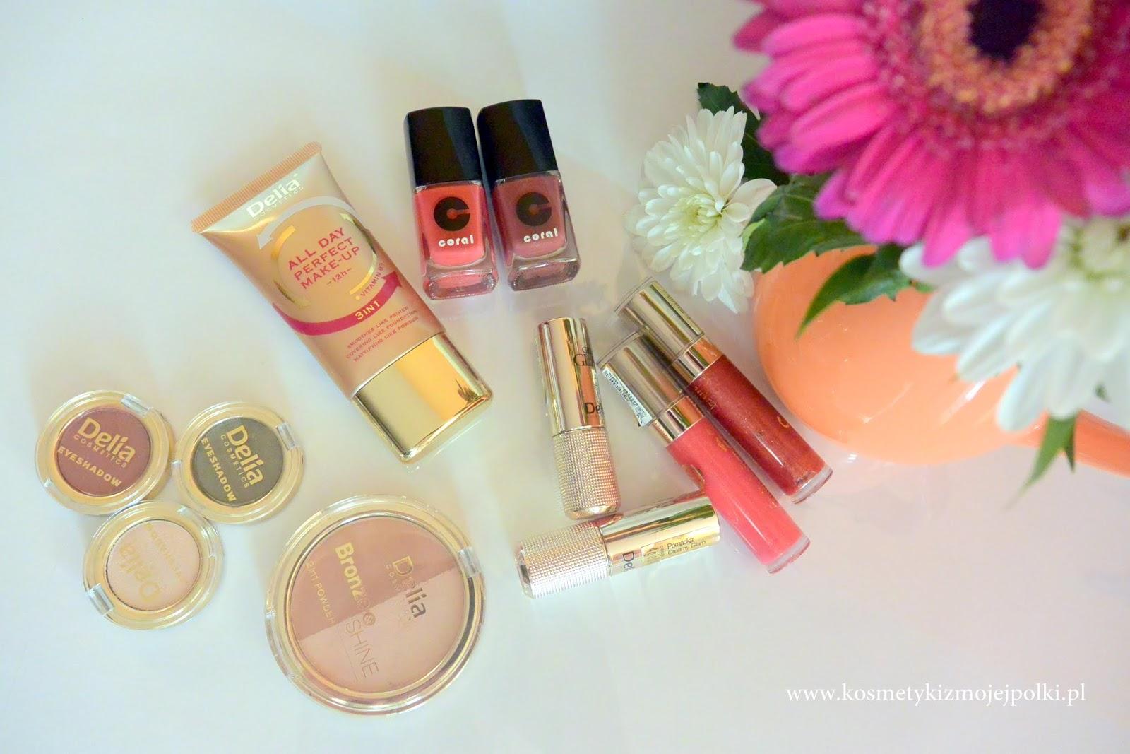 Jesienna kolekcja makijażowa Delia Cosmetics