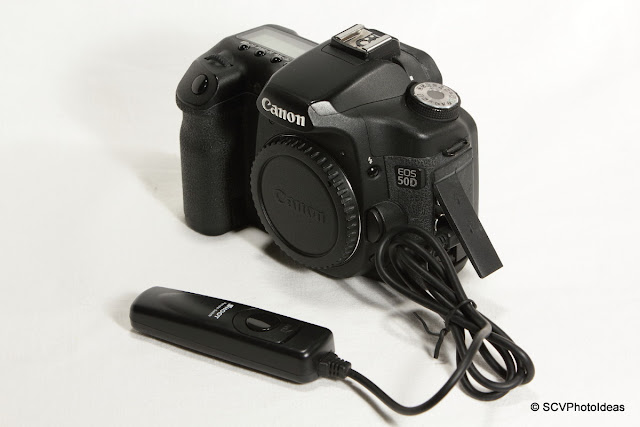 Shoot RS-80N3 compatible Remote Release Cable on Canon EOS 50D