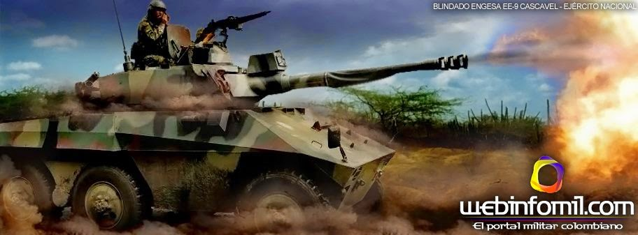 Blindado EE-9 Cascavel Ejército Colombia