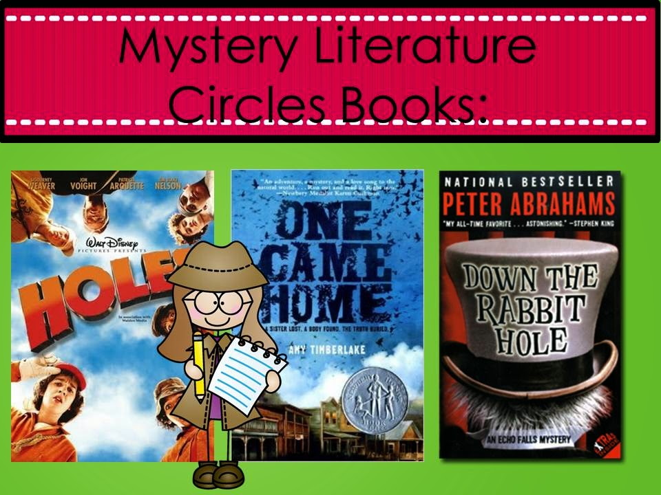 Middle school mystery book reports