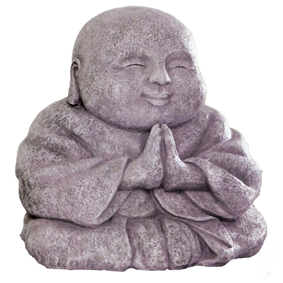 happy buddha stone garden statue garden buddha statues. Black Bedroom Furniture Sets. Home Design Ideas