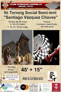 """5è Scial Semi-lent """"Santiago Vázquez Chaves"""""""