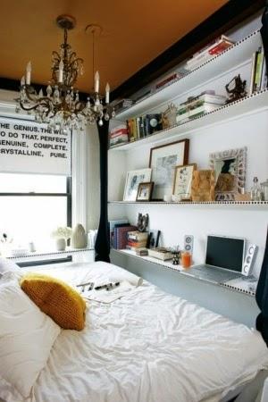 Soluciones para colchon grande en habitacion muy pequeña