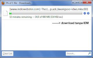 download cepat dengan idm