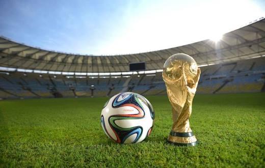 gambar trophy piala dunia brasil 2014