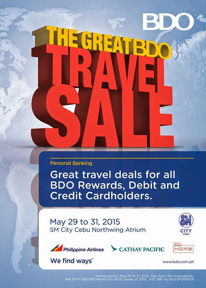 Bdo travel deals