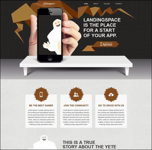 LandingSpace WP – Place for Successful Start