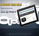 iPad2 nyeremény