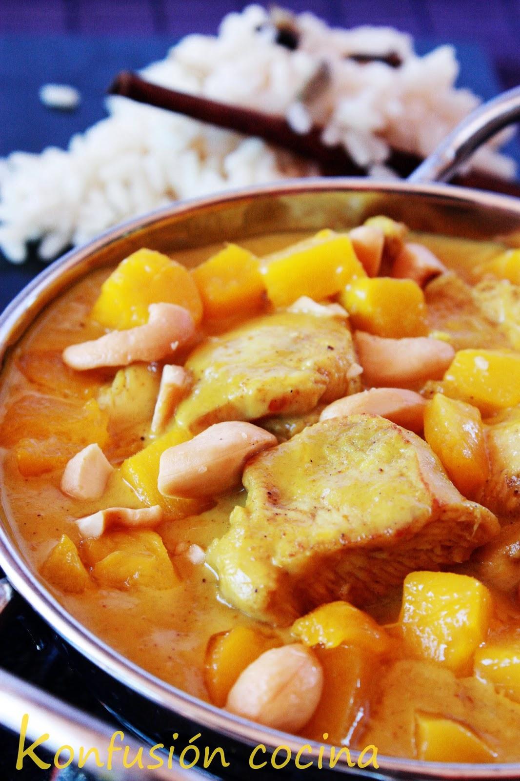 Chicken Curry Kokosmilch leckeren cremigen Würzig indisch ORIENTAL CURRY DI COCCO CREMA deliziosa crema PICCANTE INDIANA DOLCE ORIENTALE süß würzig