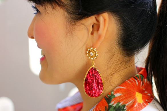 Amrita Singh Ruby Cassia Spring Earrings