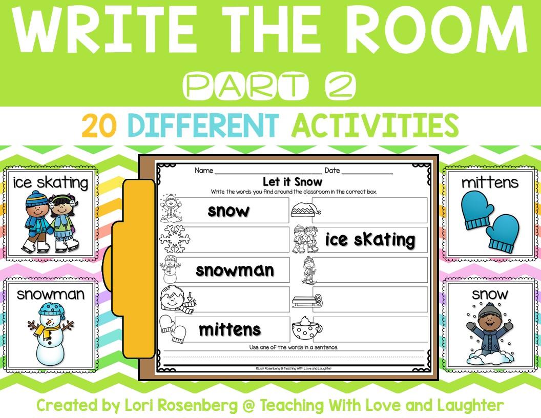 teaching writing activities