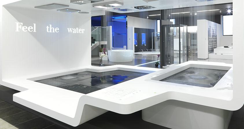Encimeras Baño Krion:que quedan totalmente integrados en la línea de la encimera