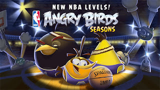 Screenshots of the Angry Birds Seasons for Android tablet, phone.