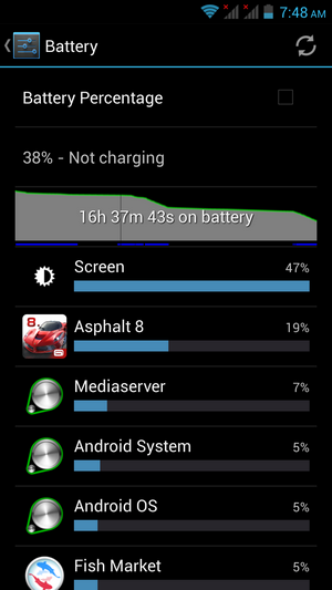 Kata M1 Battery performance