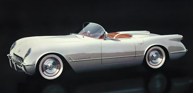 Photos of Corvettes over the Past 60 Years: C1 through C7