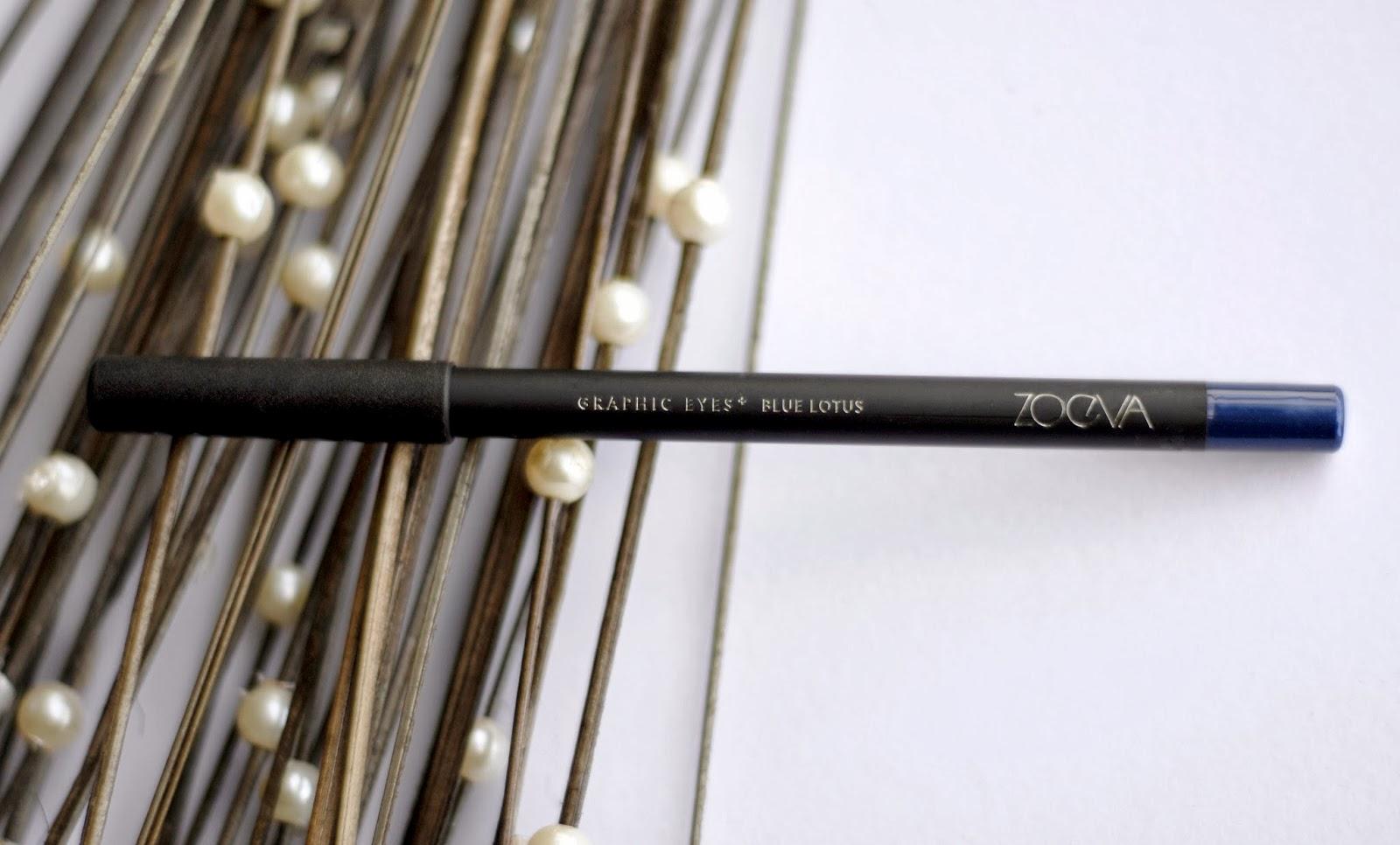 Zoeva Graphic Eyes+ Eyeliner in Blue Lotus