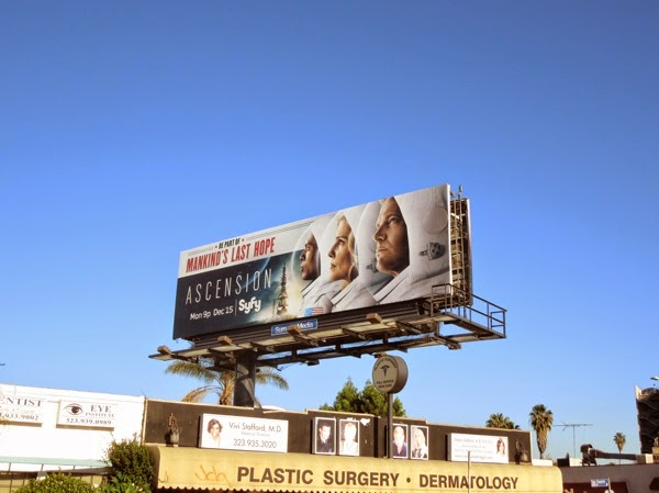 Ascension Syfy premiere billboard