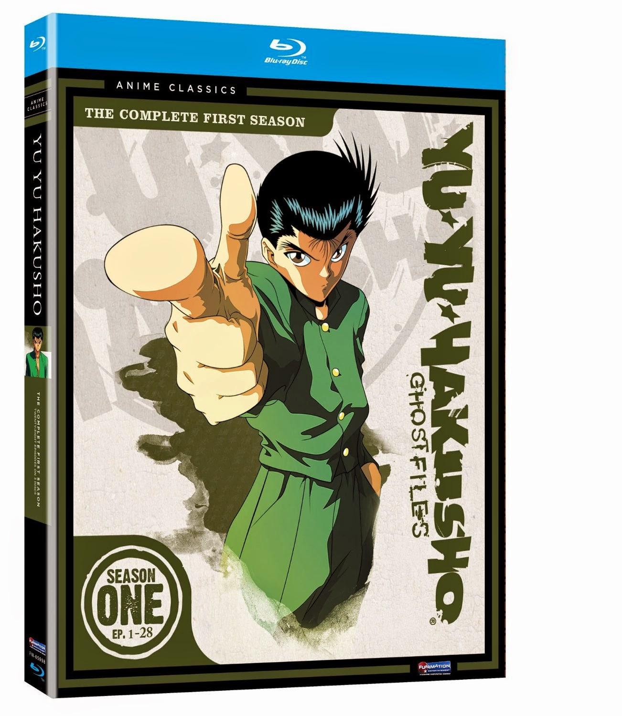 Yu Yu Hakusho Blu-Ray cover
