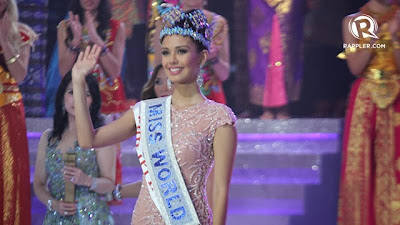 Miss Filipina Raih Mahkota Miss World 2013 di Bali, Indonesia