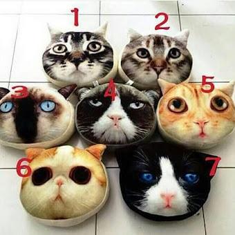 PUSAT GROSIR BANTAL CAT 3D