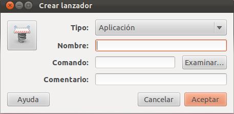 Crear lanzador en Ubuntu