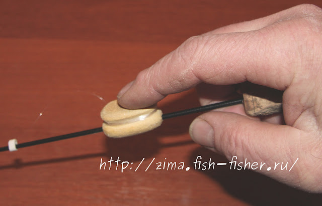 Как сделать ручку для катушки для рыбалки