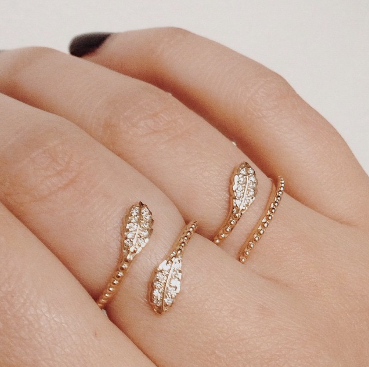 Our New Pave Leaf Collection Will Be Available On Shopvale Shortly