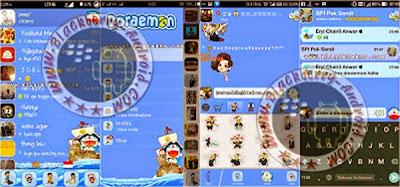 Free BBM Mod Doraemon Free Stiker Apk 2.8.0.21 Terbaru