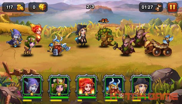 Heroes Charge apk data