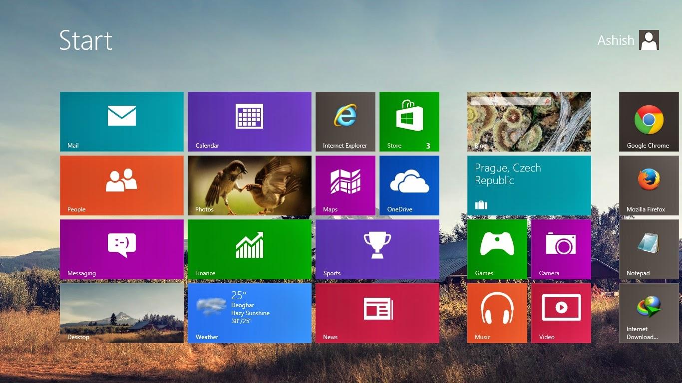 Add Custom Background Image to Windows 8 Start Screen